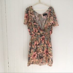 NWT MINKPINK Floral Eyelet Dress